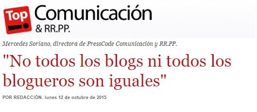 Presscode participa en el Observatorio de la comunicación turística de Top Comunicación