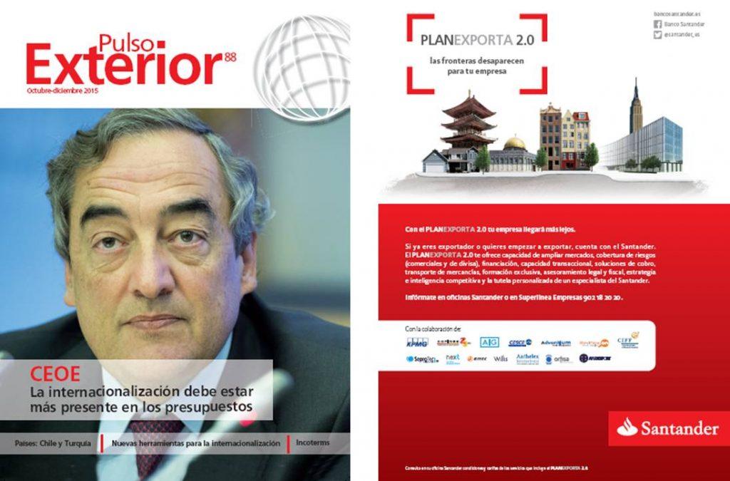 Revistas corporativas Banco Santander